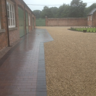 Brindle Clay Paving