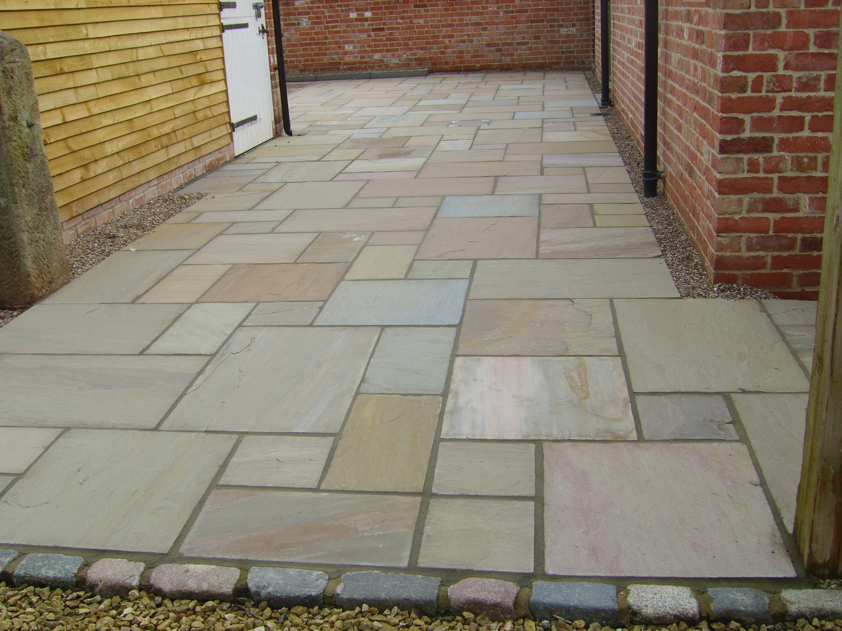 Indian Stone Paving Derbyshire And Staffordshire Alan