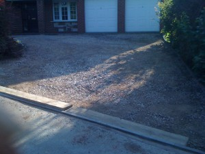 Driveway Ready for paving