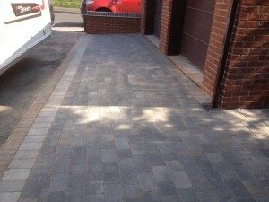 Bradstone Charcoal Tegular Paving
