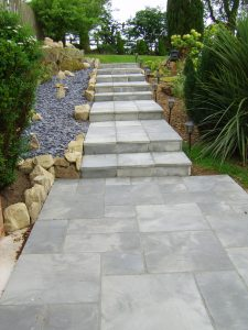 New Bradstone Garden Steps