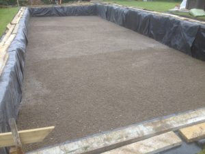 Concrete Blinding for pool base
