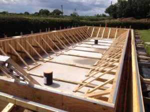 Concrete shuttering-specialist installation