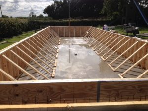 Construction Concrete Swimming Pool