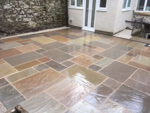 Indian Stone Courtyard Matlock