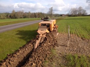Trenching Machine Alan Bailey Groundworks